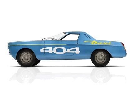 1965 Peugeot 404 diesel - record car 1