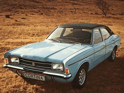 1970 Ford Cortina 4-door saloon 1