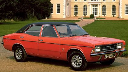 1970 Ford Cortina 4-door saloon 6