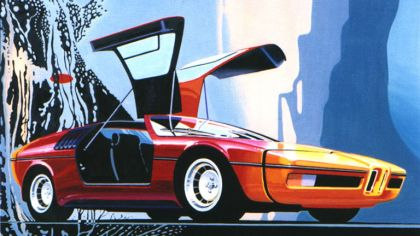 1972 BMW Turbo by Paul Bracq 6