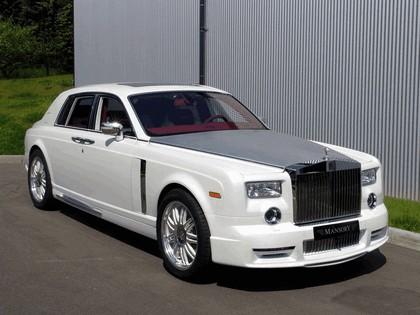 2010 Rolls-Royce Phantom White by Mansory 1