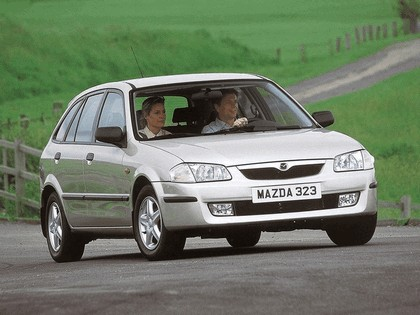 1998 Mazda 323 ( BJ ) F 4