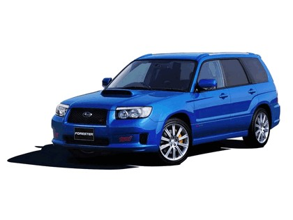 2005 Subaru Forester STi Japanese Version 4