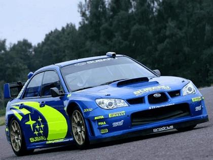 2005 Subaru Impreza WRC 2006 prototype 1
