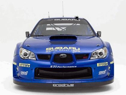 2005 Subaru Impreza WRC 2006 prototype 3