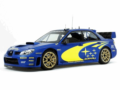 2005 Subaru Impreza WRC 2006 prototype 4