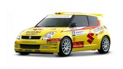 2005 Suzuki Swift rally car 3