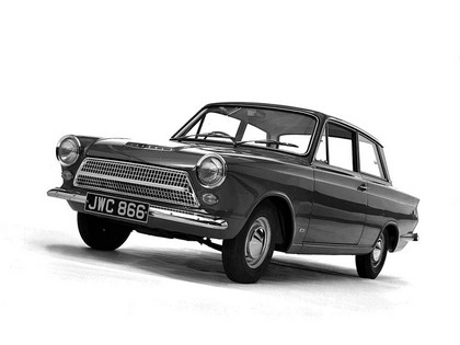 1962 Ford Cortina 2-door saloon 2