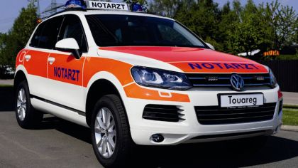 2011 Volkswagen Touareg Notarzt 2
