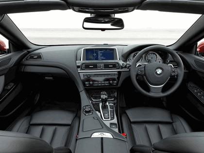 2011 BMW 640i ( F13 ) cabriolet - UK version 11