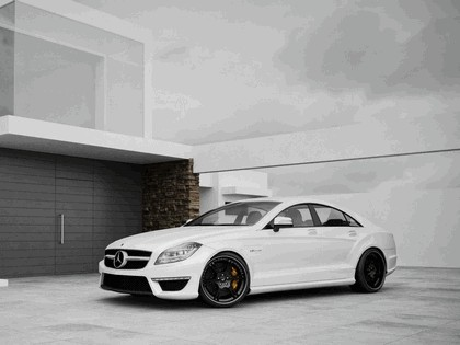 2011 Mercedes-Benz CLS63 AMG by Wheelsandmore 1