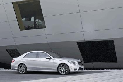 2011 Mercedes-Benz E63 AMG 5.5 liter V8 biturbo 4