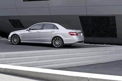 2011 Mercedes-Benz E63 AMG 5.5 liter V8 biturbo 6