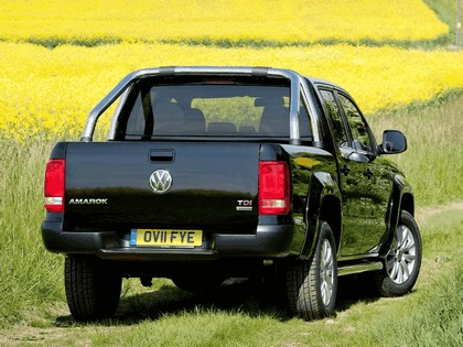 2010 Volkswagen Amarok Double Cab Trendline - UK version 15