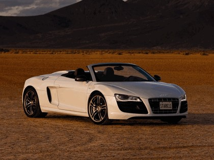 2010 Audi R8 V10 spyder - USA version 1