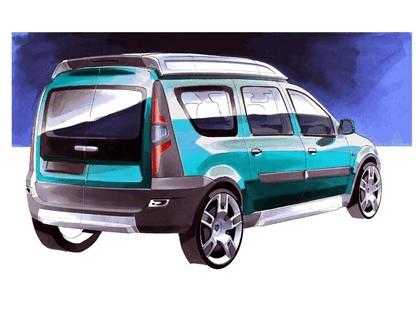 2006 Dacia Logan Steppe concept 35