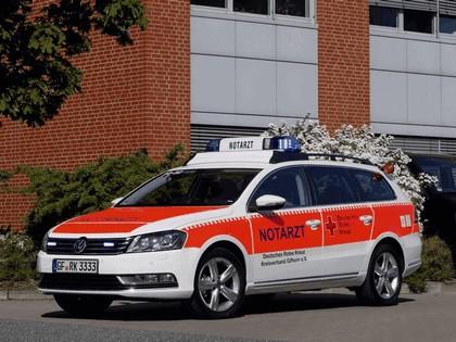 2011 Volkswagen Passat Variant Notarzt 1
