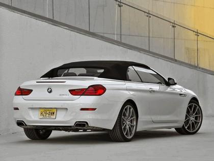 2011 BMW 650i ( F13 ) cabriolet - USA version 12