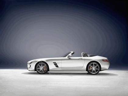 2011 Mercedes-Benz SLS AMG roadster 1
