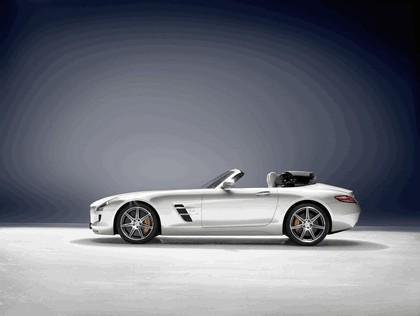 2011 Mercedes-Benz SLS AMG roadster 2
