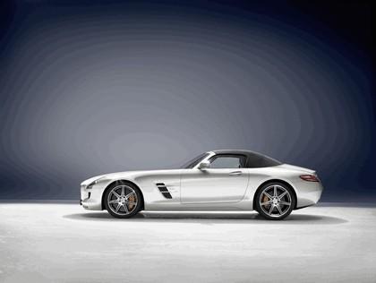 2011 Mercedes-Benz SLS AMG roadster 4