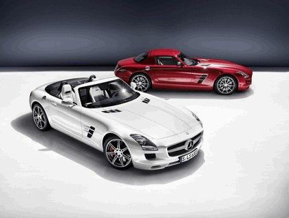 2011 Mercedes-Benz SLS AMG roadster 11