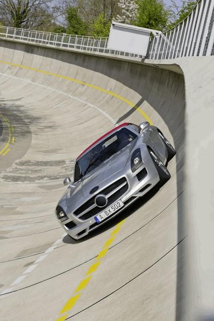 2011 Mercedes-Benz SLS AMG roadster 59