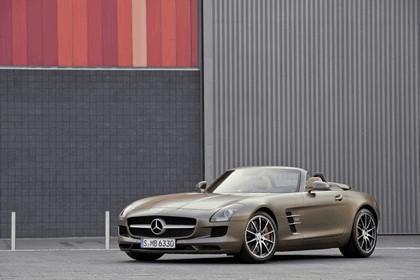 2011 Mercedes-Benz SLS AMG roadster 62
