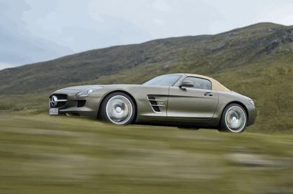 2011 Mercedes-Benz SLS AMG roadster 70
