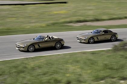2011 Mercedes-Benz SLS AMG roadster 86