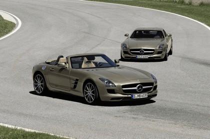 2011 Mercedes-Benz SLS AMG roadster 89