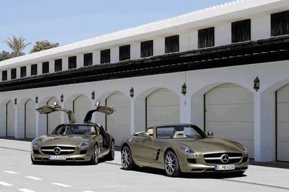2011 Mercedes-Benz SLS AMG roadster 90