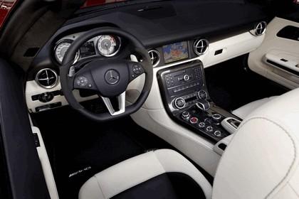 2011 Mercedes-Benz SLS AMG roadster 125