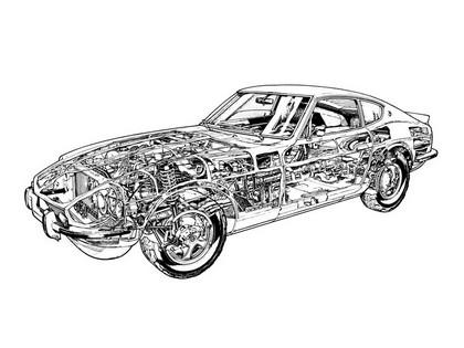 1969 Datsun 240Z ( HS30 ) 13