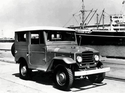 1956 Toyota Land Cruiser hardtop ( FJ25L ) 1