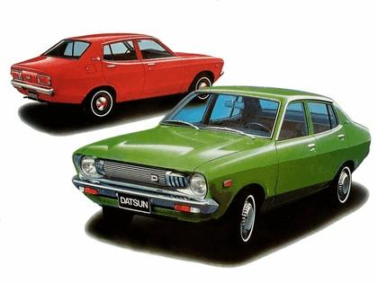 1973 Datsun Sunny sedan ( B210 ) 2