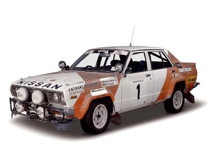 1978 Nissan Violet ( CA A10 ) rally car 1