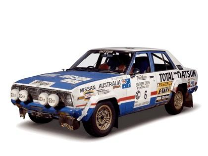 1978 Nissan Violet ( CA A10 ) rally car 2