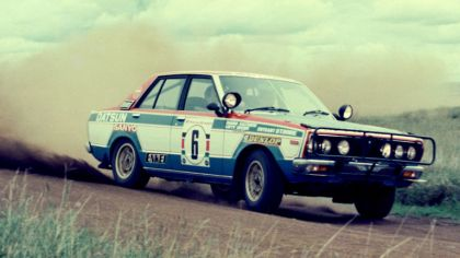 1978 Nissan Violet ( CA A10 ) rally car 5