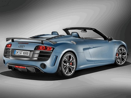 2011 Audi R8 GT spyder 4