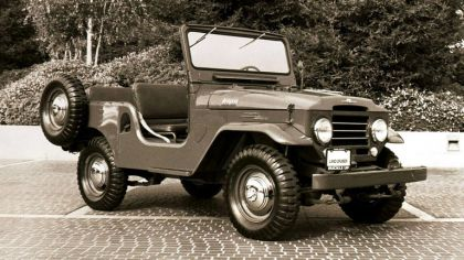 1957 Toyota Land Cruiser canvas top ( FJ25L ) 2