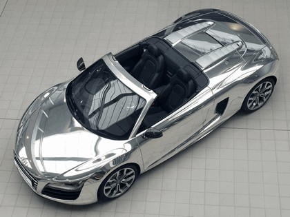 2011 Audi R8 V10 spyder chrome - UK version 1
