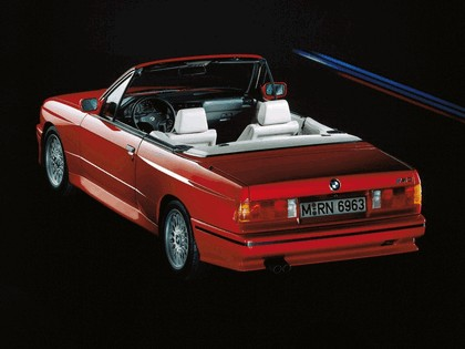 1988 BMW M3 ( E30 ) cabriolet 3