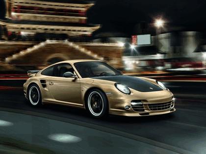 2011 Porsche 911 ( 997 ) Turbo S - 10th anniversary in China 1