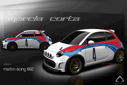 2011 Fiat 500 Marcia Corta by Camal 7
