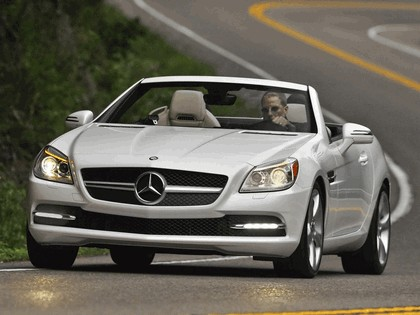 2011 Mercedes-Benz SLK 350 - USA version 2