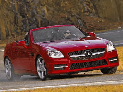 2011 Mercedes-Benz SLK 350 AMG with Sports Package - USA version 9