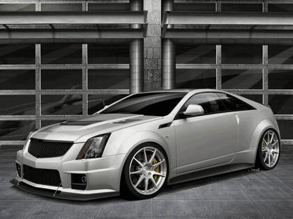 2011 Hennessey CTS-V coupé V1000 ( based on Cadillac CTS-V coupé ) - renders 1