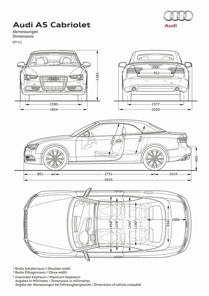 2011 Audi A5 cabriolet 7