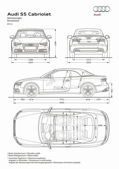 2011 Audi S5 cabriolet 3